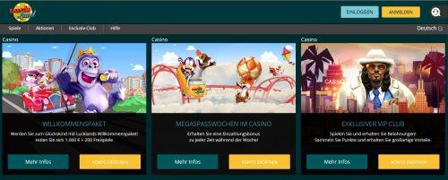 Luck Land Casino bonus ohne einzahlung