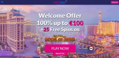 Lucky Vegas bonuses