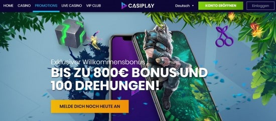 Casiplay promotions