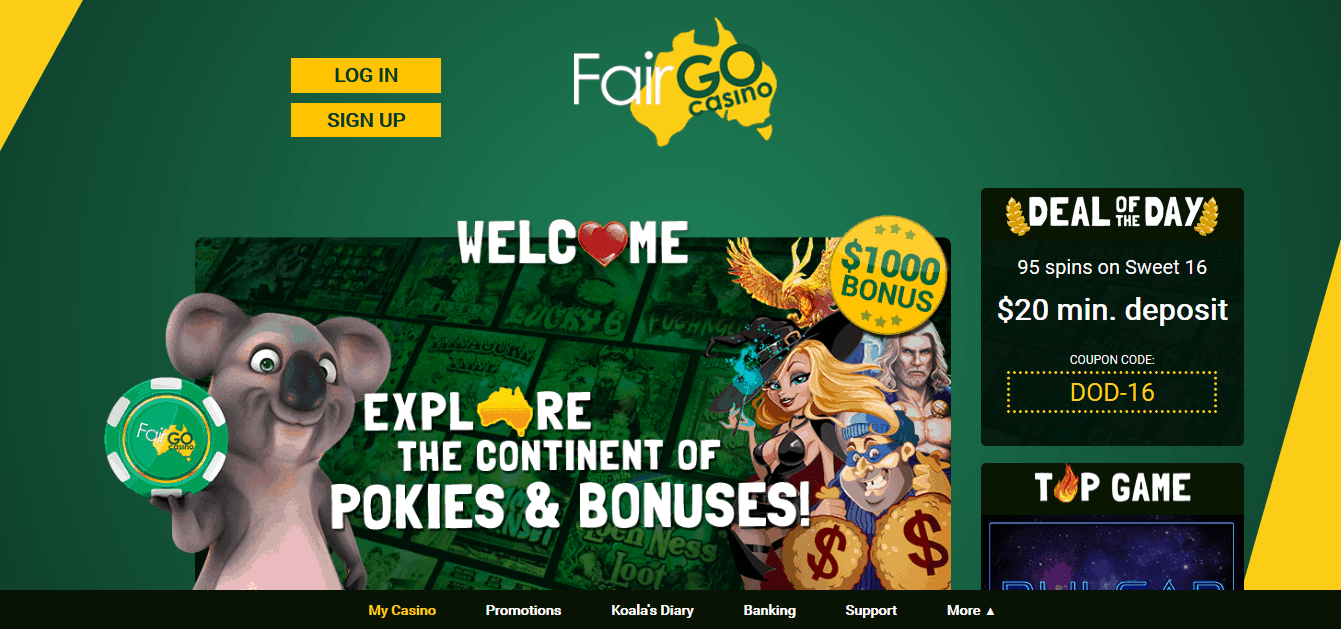 fair go casino homepage