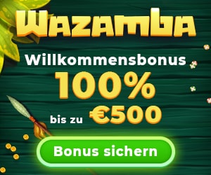 wazamba welcome offer bonus