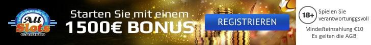 all slots casino willkommen bonus