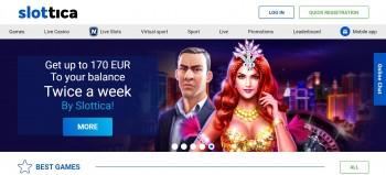 Slottica casino promo