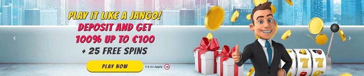 playjango casino bonus code offer