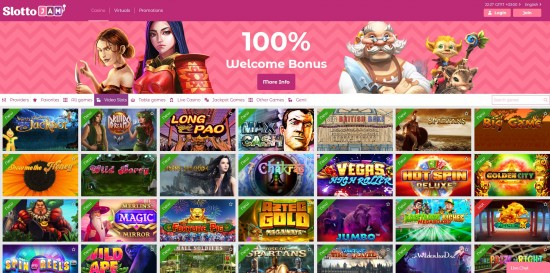 slottojam casino welcome bonus code