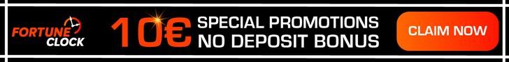 fortune clock casino no deposit bonus