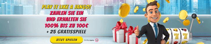 playjango bonus code willkommen bonus