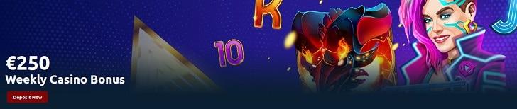 Tornadobet Casino Weekly Reload Bonus
