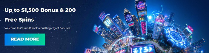 Casino Planet Welcome Bonus Code