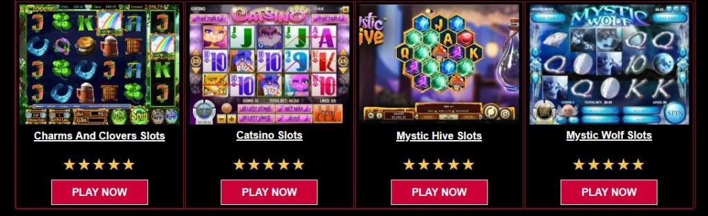 True Fotune Casino Games Page