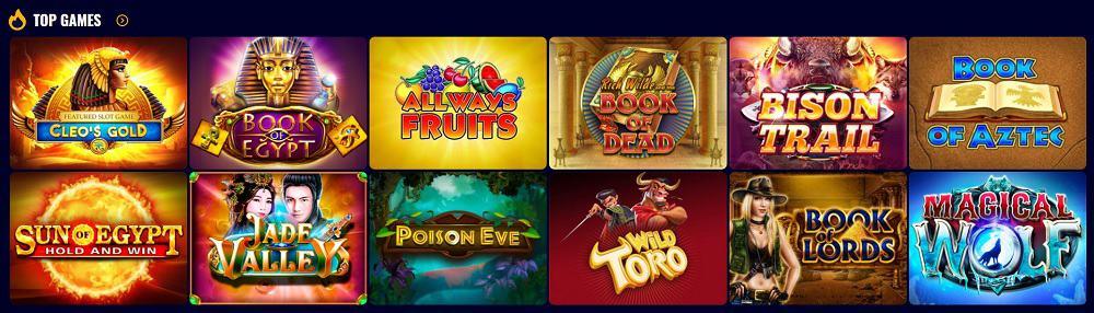Savarona Casino Games